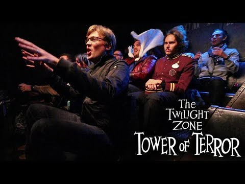 Tower Of Terror On Ride - Disneyland Paris