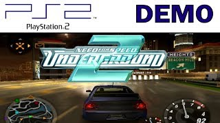 NFS Underground 2 PS2 Demo (Burnout 3 Takedown Extra)