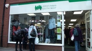 Children's Hospice South West open Tiverton Shop