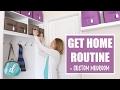 GET-HOME ROUTINE | Custom Mudroom Ideas & Tips