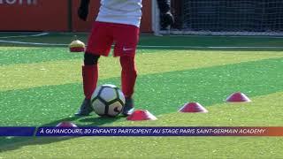 Yvelines | À Guyancourt, 30 enfants participent au stage Paris Saint-Germain Academy