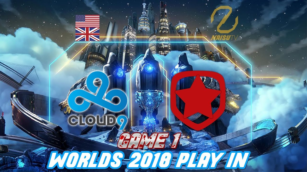 Cloud9 Gambit Esports C9 Gmb Worlds 2018 Play In