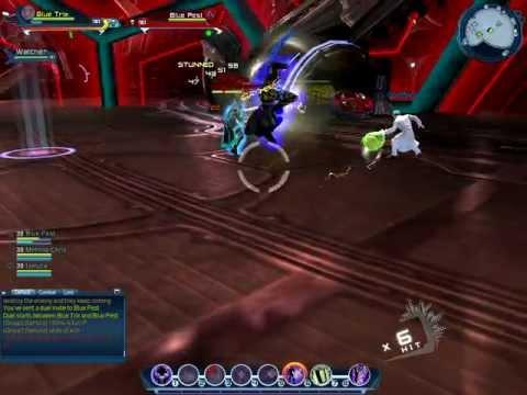 jokers minions duel sorcery healer vs lightning dps dcuo