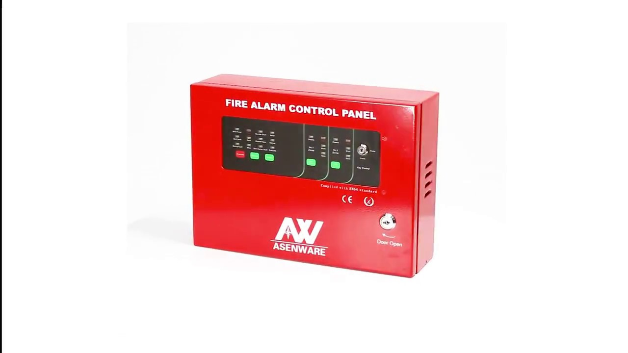 Fire Alarm System Control Panel 2 Zone