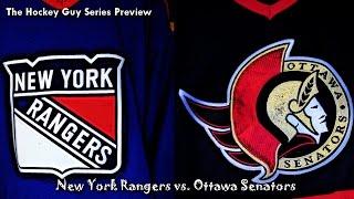 Round Two Preview - Ottawa Senators vs. New York Rangers