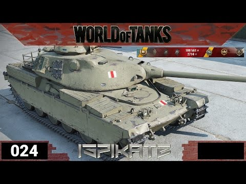 World of Tanks [024] - Clankampagnenpanzer Chieftain T95 - Let´s Show WoT from YouTube · Duration:  12 minutes 24 seconds