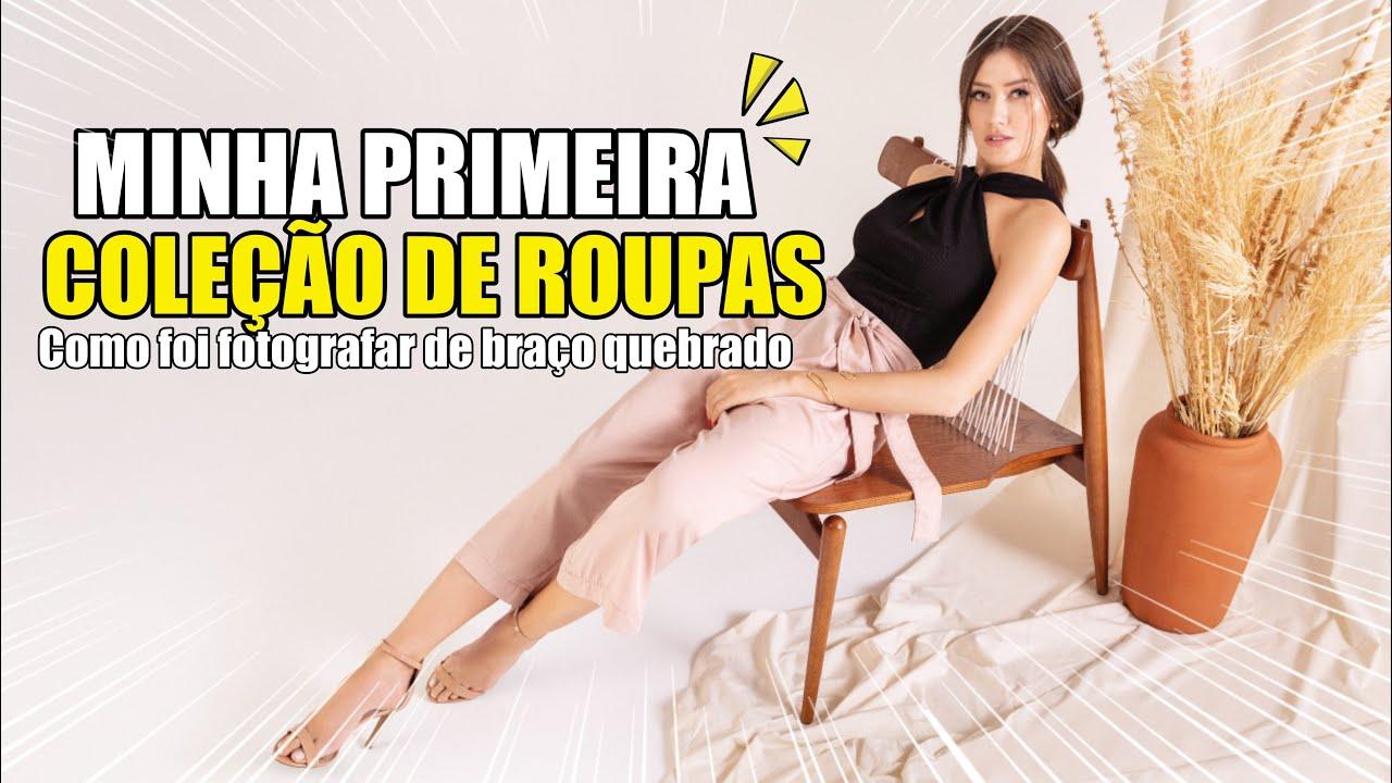 ASSINEI UMA COLEÇÃO DE ROUPAS 😱 - Vitória Portes