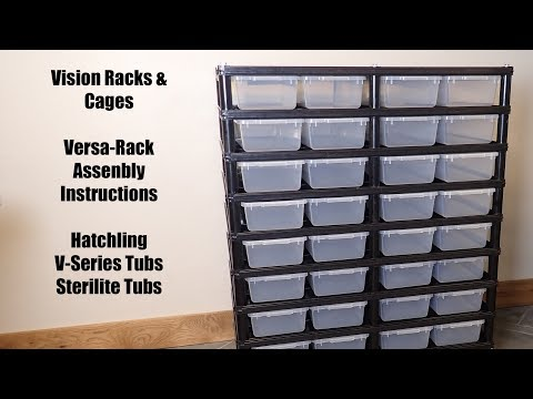 Snake Breeding Cages, Reptile Racks and More | Vision Racks