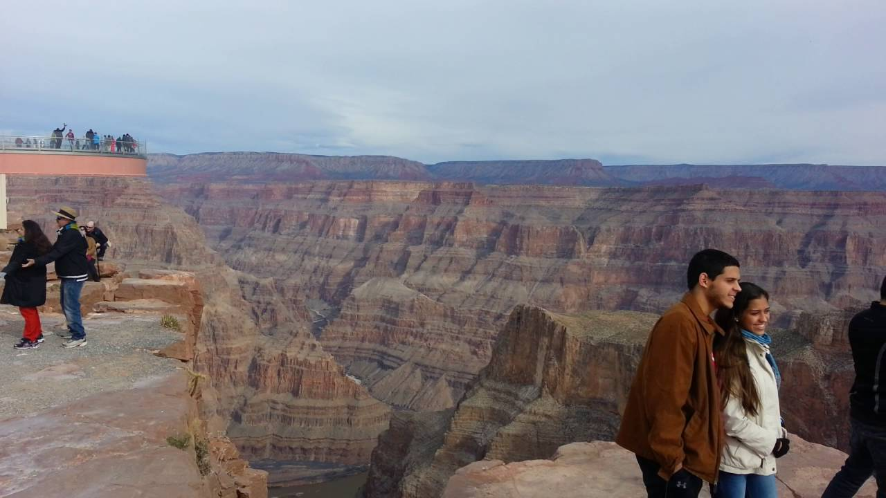 Alice Kong Family Winter Holidays At Grand Canyon U S A