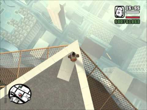 GTA SA Tallest Building Suicide Jump
