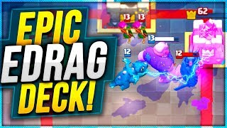 EPIC ELECTRO DRAGON META DECK Trophy Pushing | Clash Royale Nickatnyte