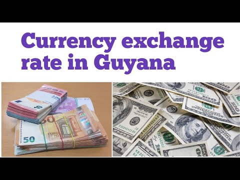 Currency Exchange Rate In Guyana You