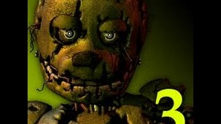 Five Night at freddy 3 Morrendo de medo (CAGANDO DAS CALÇAS