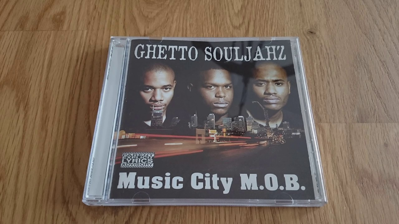 Ghetto Souljahz - Syco N Kazz 1997 Nashville TN