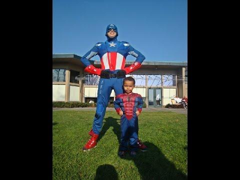 Captain America Birthday Party Ideas Milwaukee