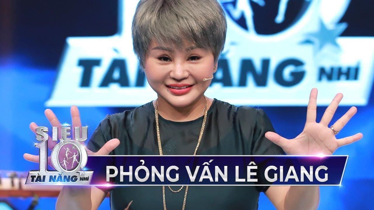 Hậu trường phỏng vấn Lê Giang cảm xúc khi ngồi ghế giám khảo Siêu Tài Năng Nhí Tập 9