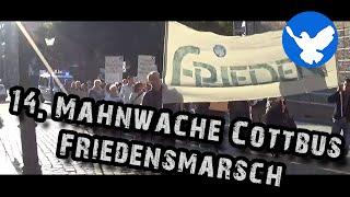 14. Mahnwache für den Frieden Cottbus