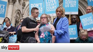 Campaigner loses battle in court over disability screening and abortion