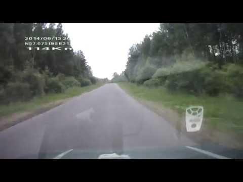 дорога Старая Русса - Торопец часть№1 июнь 2014