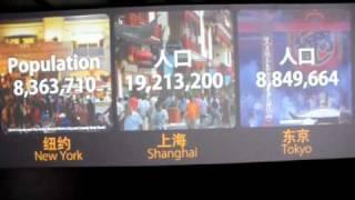 Shanghai - New York/Shanghai/Tokyo