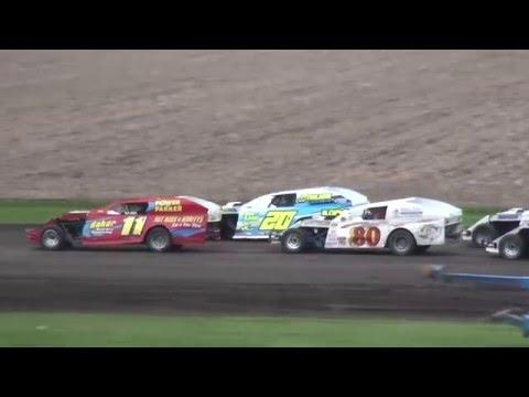 IMCA Modified feature Benton County Speedway 5/8/16