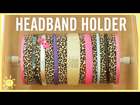 DIY | How To Organize Hair Accessories