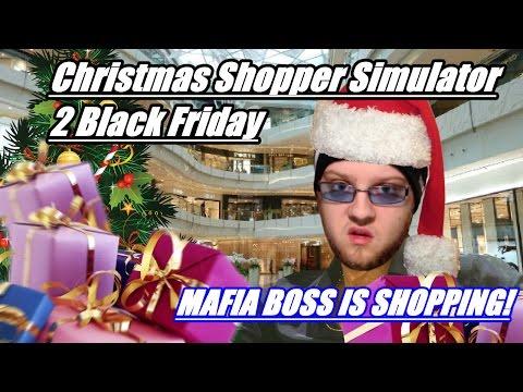 MAFIA BOSS IS SHOPPING | Christmas Shopper Simulator 2 Black Friday #2