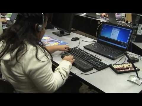 Distance Learning Math Classes for Bind and Visually Impaired Students