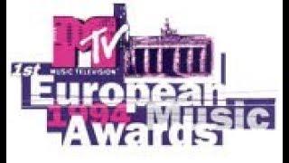 1994 MTV Europe Music Awards - Nominees & Winners