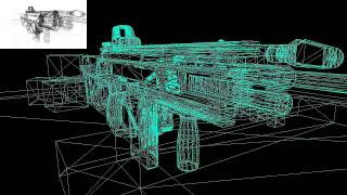 Core Engine: Depth Dependent Halos for wireframe rendering [XNA]