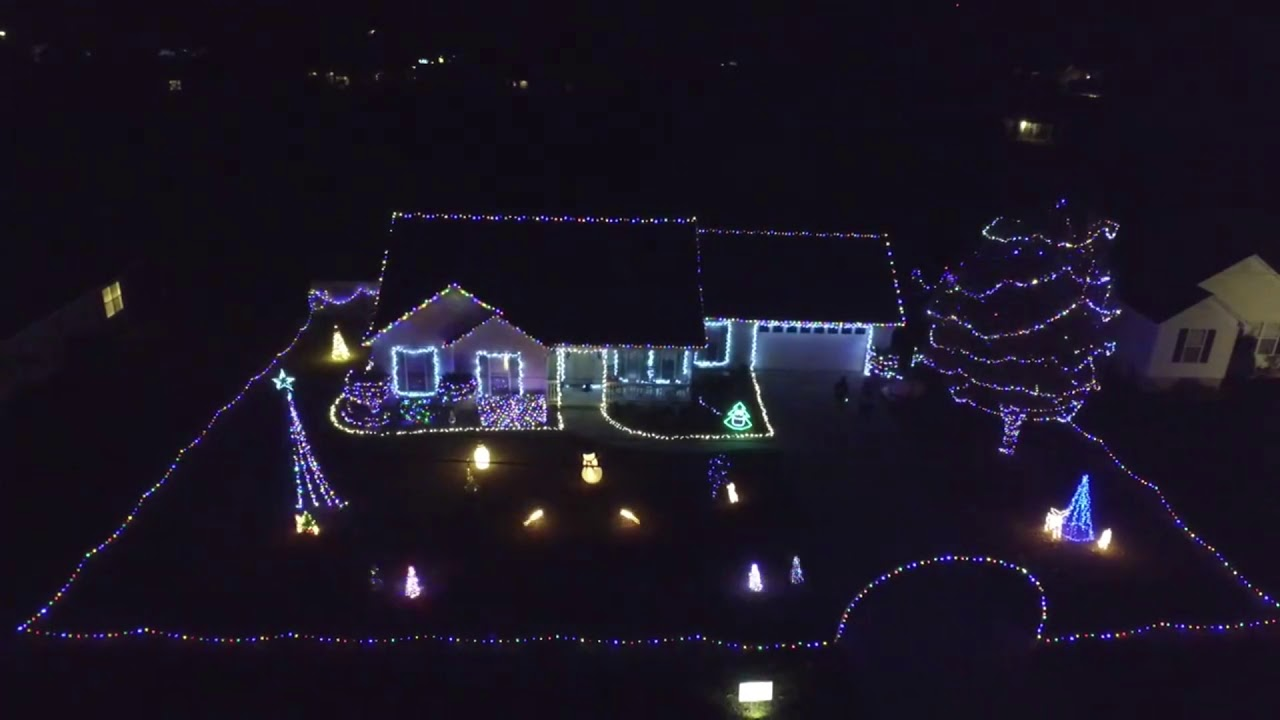 Mercy Me Light O Rama Christmas Light Show Youtube