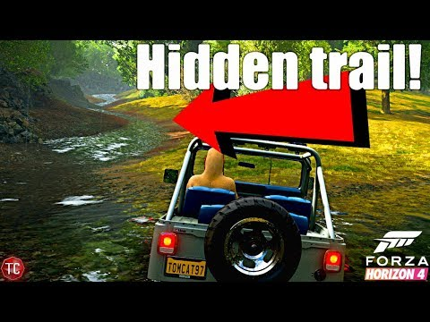 Forza Horizon 4: HIDDEN OFF-ROAD TRAIL!? I had no idea this was here!!