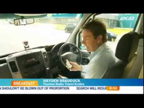 Tourism Radio travel apps featured on TVNZ