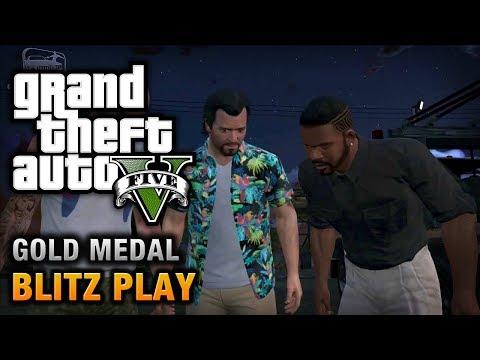 GTA 5 Mission #39 Blitz Play [100% Gold Medal Walkthrough]