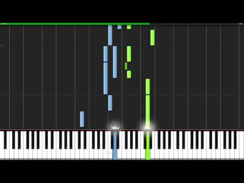 Minuet in G Major - Johann Sebastian Bach [Piano Tutorial] (Synthesia)
