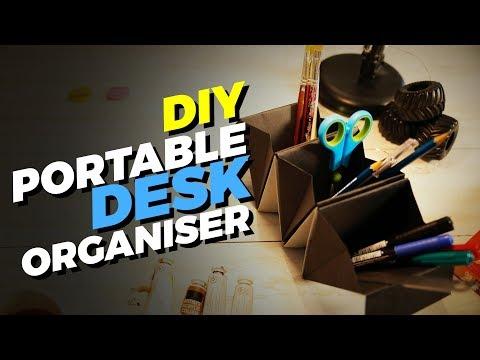 How to make a Portable Desk Organizer