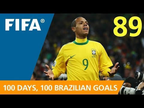 100 Great Brazilian Goals: #89 Luis Fabiano (South Africa 2010)