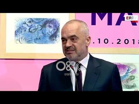 "Ora News - Çelet ne COD ekspozita e Marc Chagall ""Graviteti Magjik"""
