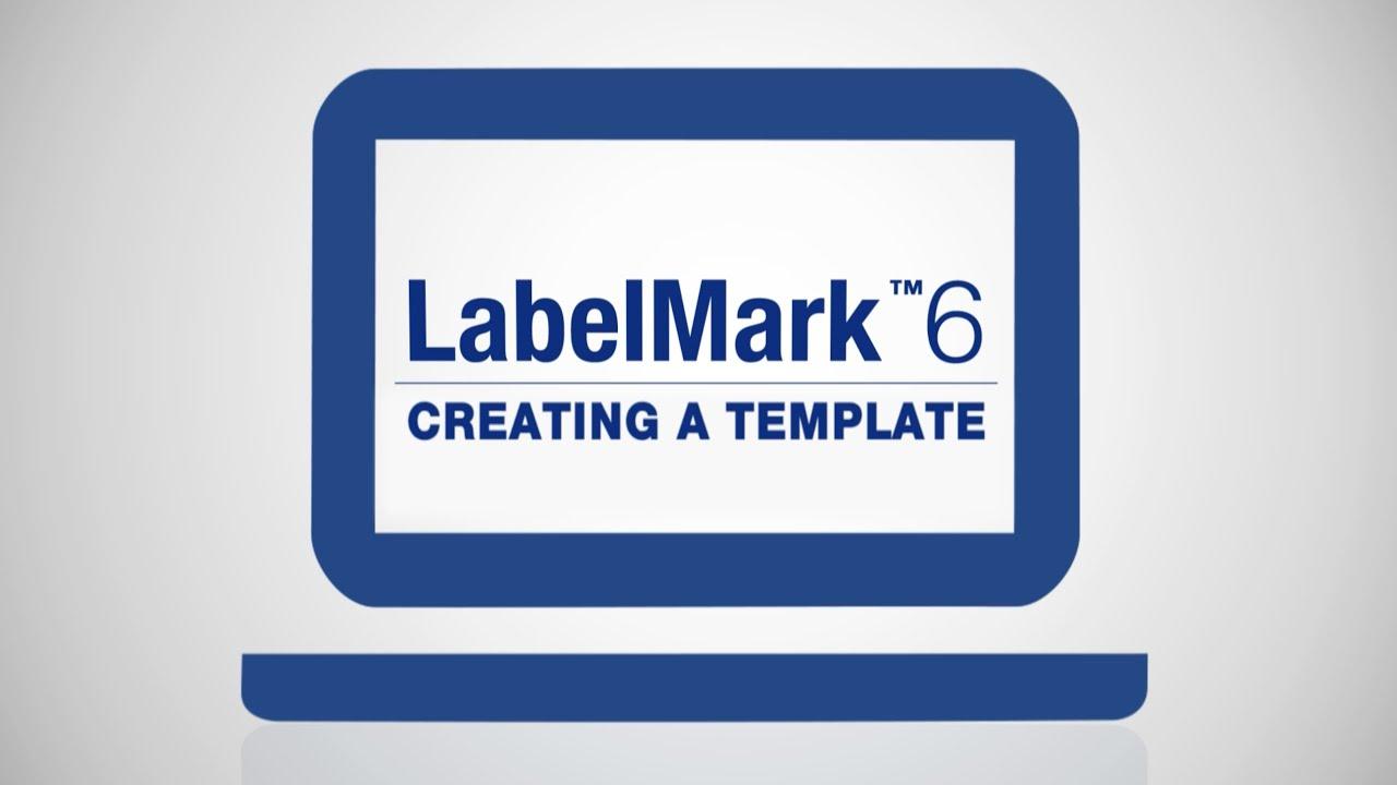 How To Create A Template On Labelmark 6 Brady North America