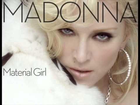 Madonna -Material Girl (Remix)