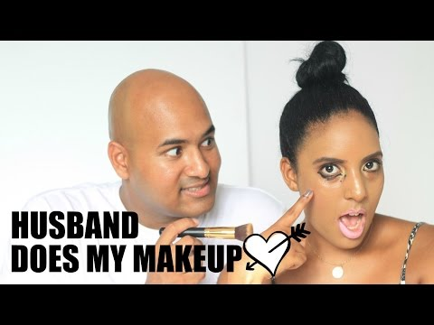 Husband Does my Makeup | Canvas Fashions - South African Beauty Blogger