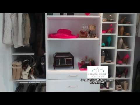Creative Closet Solutions Featured on THIS IS NEW HAMPSHIRE ABC WMUR 9