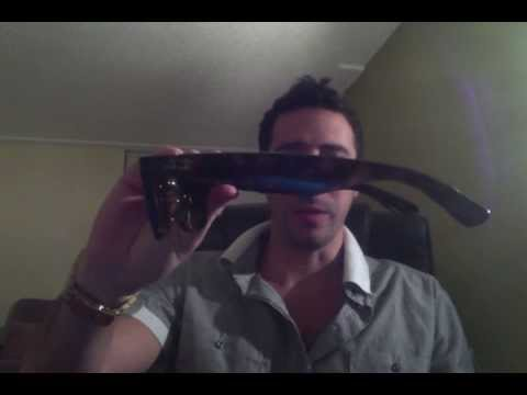 4c0da86508bc Replacement Lenses & Temples (arms) for Ray-Ban RB 2132 Wayfarers - YouTube