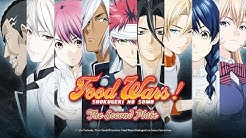 Food Wars! The Second Plate - Synchro-Trailer