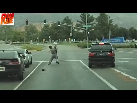 ROAD RAGE IN USA BAD DRIVERS USA, CANADA NORTH AMERICAN DRIVING FAILS COMPILATION# 98