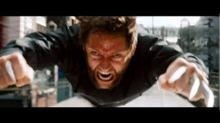The Wolverine - Extended Train Fight Scene