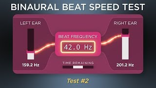How fast is YOUR brain? Take the binaural beat speed test!