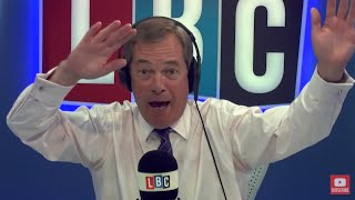 The Nigel Farage Show On Sunday: Angela Merkel v Martin Schulz. 2/2 LBC - 3rd September 2017