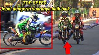 Ngeri saat TOP SPEED JEBOL Sport 2t 140cc TU idc seri 4 demak