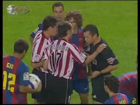 Athletic de Bilbao vs Barcelona - Liga 2004-2005